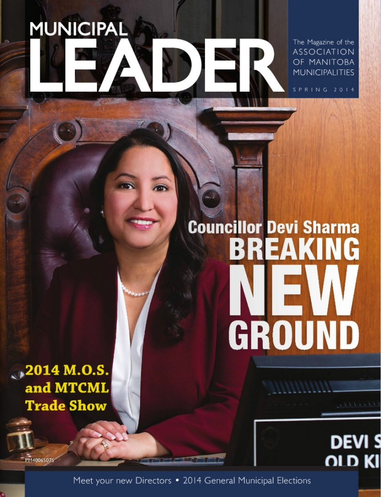 Municipal Leader - Spring 2014 - Cover
