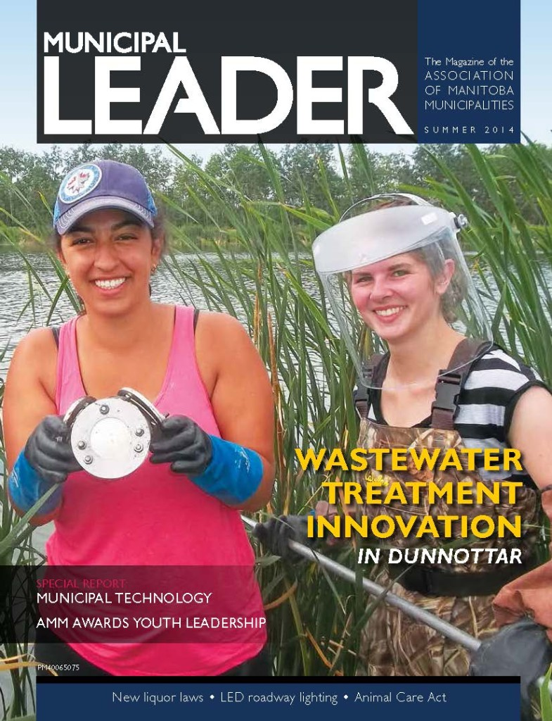 Municipal Leader - Summer 2014 - Cover